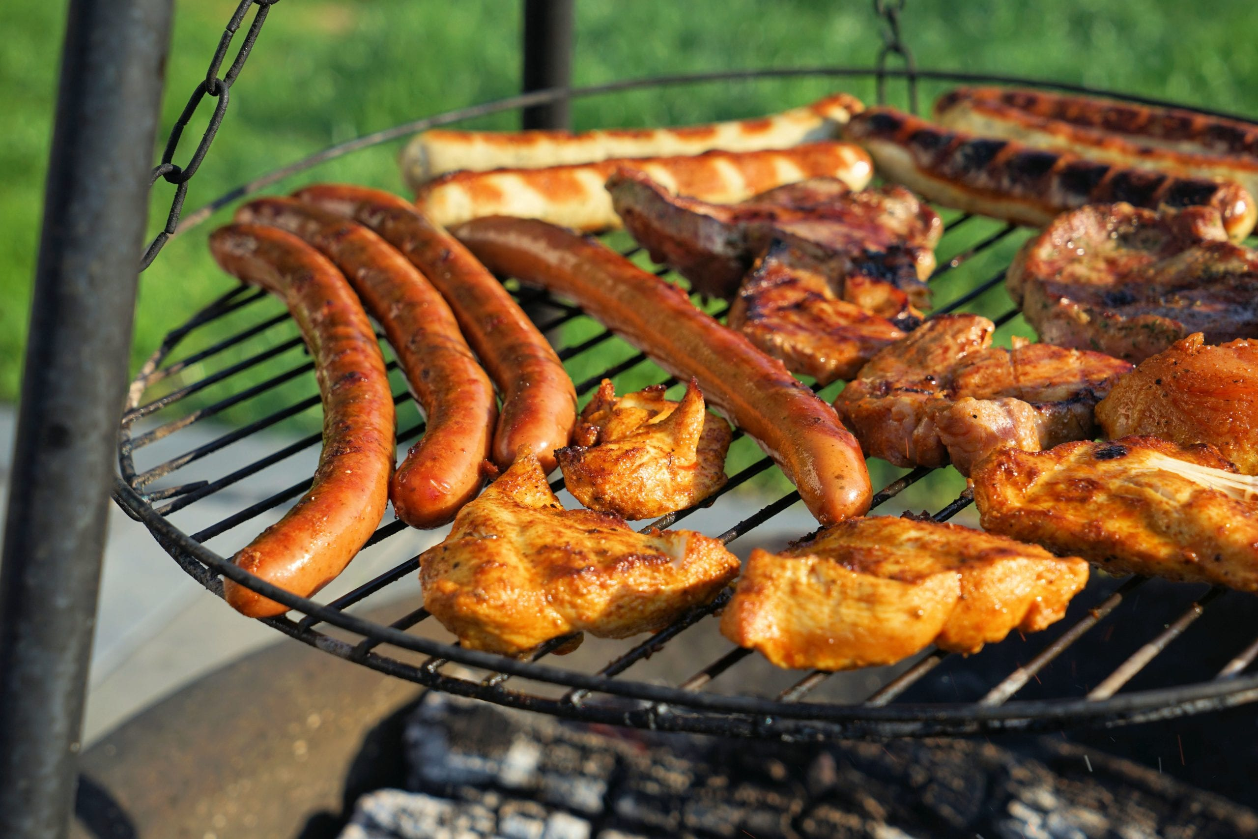 barbecue, grill, grilled meats